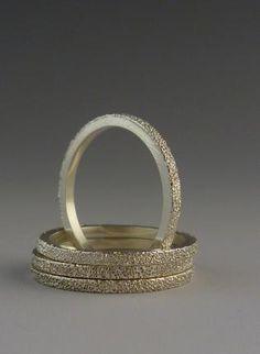 diamond texture rings