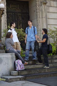 Students at Champlain Montreal