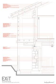 EXiT architetti associati.  FVL.  Details facades