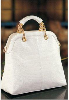 Nice white bag!!!