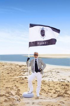 Karl Lagerfeld Chanel Resort 2015 Dubai