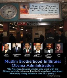 """What part of """"I Will Stand ...with islam"""" do you not understand, right out of BO's ugly mouth?"""