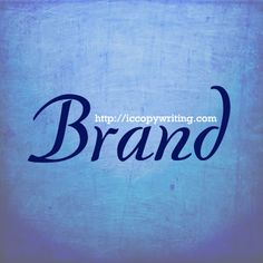 Graphics for the 15 Habits of Great Writers challenge from Jeff Goins. Day 14 - Brand