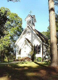 St Andrews Episcopal Church (ca1871) Clinton La