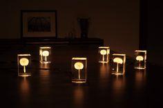 OLED Dandelion Lights by Takao Inoue | Colossal