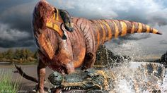 """New species of duck-billed dinosaur described.  Say hello to Rhinorex condrupus """"King Nose"""".  A dinosaur with a very large nose (potentially)."""