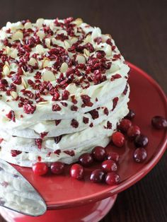 Cranberry Dacquoise - 40 Homemade Holiday Food Gift Recipes  on HGTV
