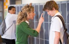 Boys were three times more likely to be expelled than girls (file picture)