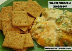 Polish The Stars: Warm Broccoli Cheese Dip