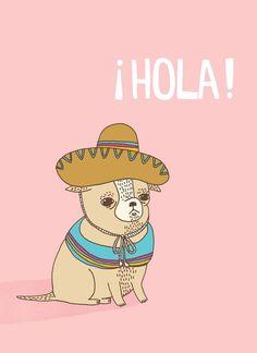 Chihuahua Print! #dogs #animal #chihuahua