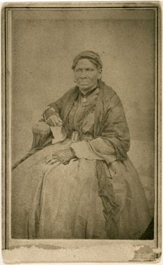 """Aunt Sukey"" African American slave of Robert B. Smith family. (1860)"