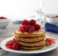 Bhakti Chai Pancakes http://bhaktichai.com/recipes/bhakti-pancakes/
