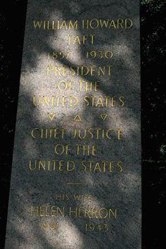 Grave Marker- Helen Taft, (2 of 2)