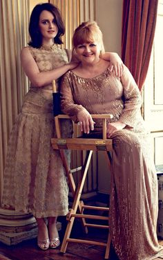 Downton Ladies: Daisy and Ms. Patmore