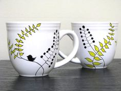 painted mugs - Google Search