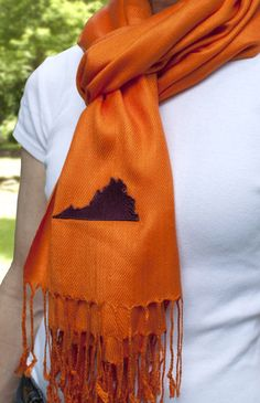 Virginia Tech scarf
