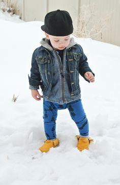 little one #wewantsale #snow #kiddies