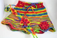 Rainbow skirty and headband at Serendipity Congo