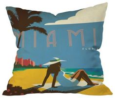 6 Colorful Beach Style Pillows