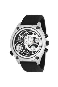 Dual Time Quartz Chronograph Watch