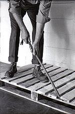 deconstruct pallets Deconstruct the pallets