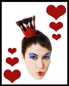 PRIVATE listing for CRYSTAL Queen Of Hearts Sparkle por SaintSallys