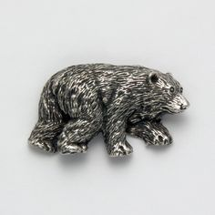 Grizzly Bear Pendant at theBIGzoo.com, a family-owned toy store.