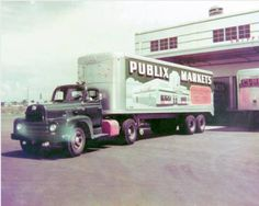 Publix distribution center in Lakeland, Florida.  1950's