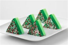 Christmas Tree JIGGLERS | Jell-O Recipes
