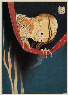 © Hokusai - The Ghost of Kohada Koheiji