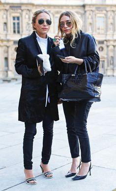 Olsens, Vogue street style shot 2014