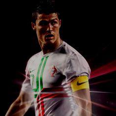 Nova camiseta de Portugal 2012/13
