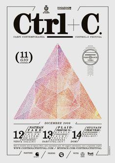 Ctrl+c Festival #Poster #Graphic #Graphique #Design