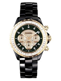 Chanel watches for women gold