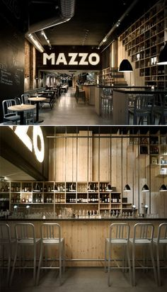 concrete architecture, home interiors, industrial interiors, restaurant design, restaurant interiors