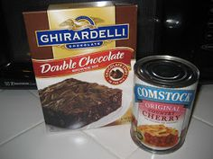 HECK FRIDAYS: Chocolate Covered Cherry Brownies