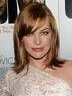 Love the color         & the Medium hair style