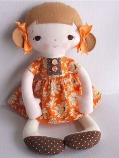Jean Doll - 15 inch $10 pdf