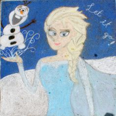 3rd Place, Middle School category — Square 101: 'Frozen' by Katherine Walcott, Claire Phillips, Julianna Han, and Anna Bennett.