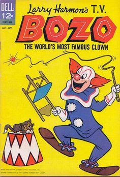 Bozo the Clown was very popular in the United States, peaking in the 1960s as a result of widespread franchising in early television.