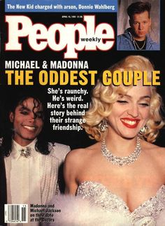 Madonna on the Cover of People Magazine #MichaelJackson  #MadonnaCovers