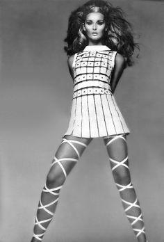 60s retro #mini #dress fashion