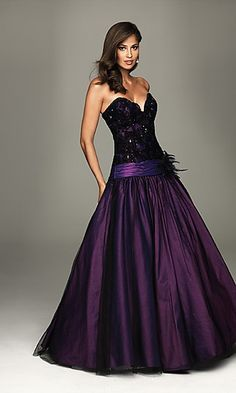 I want to wear this dress to prom.