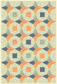 Quilt wrapping papers