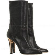 Jimmy Choo May Leather Boots