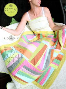 Thea's Puzzle Quilt