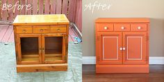 Basic steps to transforming and old and outdated piece of furniture. #DIY