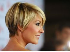 Jenna Elfman's adorable cut is just one of the best short celebrity hair styles that work for us.