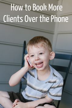 """How to Book More Clients Over the Phone (Even if you fear the phone!) @TheModernTOg"