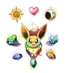 eevee future choo eevee eeve future gotta catching eevee evolutionsEevee Evolutions Stones